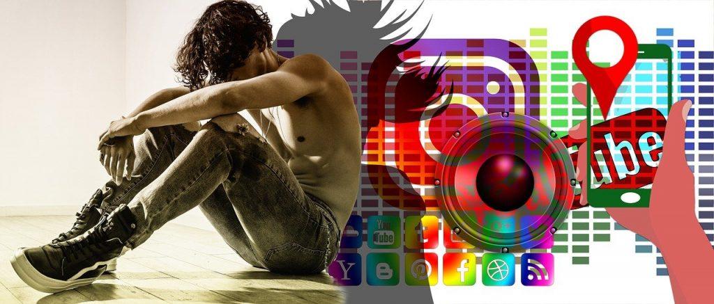 médias sociaux, social, réseau