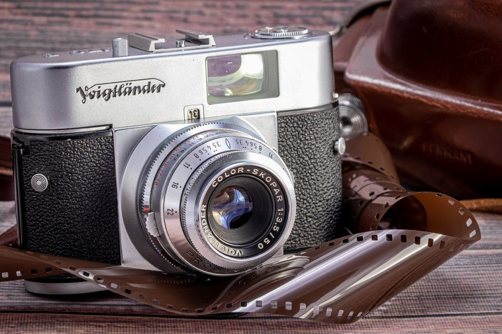 analog, vieux, caméra